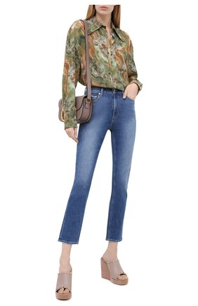 Женские кожаные сабо rockstud VALENTINO бежевого цвета, арт. UW2S0V49/BAE | Фото 2