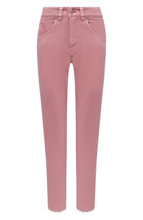 Женские джинсы BRUNELLO CUCINELLI розового цвета, арт. M0H43P5524 | Фото 1