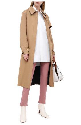 Женские джинсы BRUNELLO CUCINELLI розового цвета, арт. M0H43P5524 | Фото 2