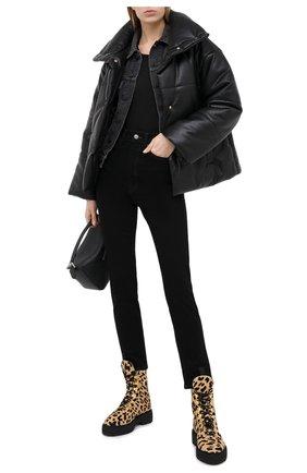 Женская джинсовая куртка OFF-WHITE серого цвета, арт. 0WYE012E20DEN0040610 | Фото 2