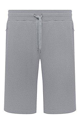 Мужские хлопковые шорты DOLCE & GABBANA серого цвета, арт. GYUTEZ/G7TWG | Фото 1