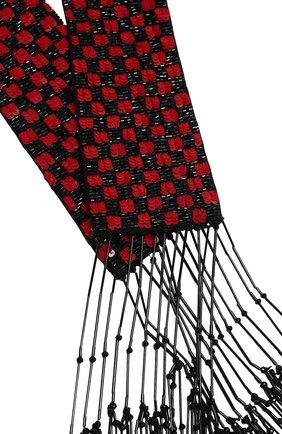 Мужские шарф GIORGIO ARMANI красного цвета, арт. 0WHH0014/T0259 | Фото 2