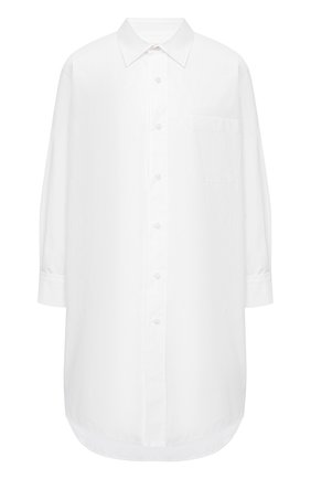 Женская хлопковая рубашка MARNI белого цвета, арт. CAMA0102A0/TCY67 | Фото 1
