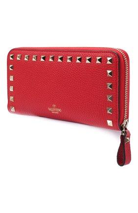 Женские кожаный кошелек valentino garavani VALENTINO красного цвета, арт. UW2P0645/VSH | Фото 2