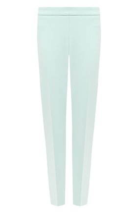 Женские брюки со стрелками BOSS зеленого цвета, арт. 50405845 | Фото 1