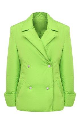 Женский пуховая куртка KHRISJOY зеленого цвета, арт. BFPW026/NY | Фото 1