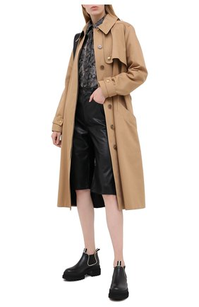 Женские кожаные ботинки giordy BALLY черного цвета, арт. GI0RDY/00 | Фото 2