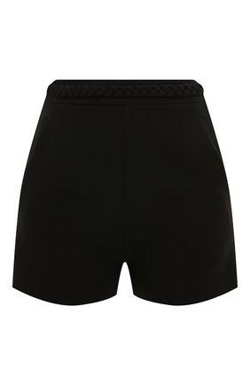 Женские шорты из шерсти и шелка VALENTINO черного цвета, арт. UB3RF1D01CF   Фото 1
