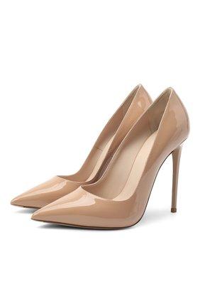 Женская кожаные туфли LE SILLA бежевого цвета, арт. 2101M100R1PPKAB | Фото 1
