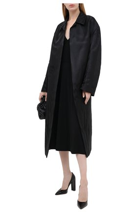 Женская кожаные туфли LE SILLA черного цвета, арт. 2905R090R3PPMIN | Фото 2