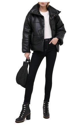 Женские кожаные ботильоны LE SILLA черного цвета, арт. 7499M080M1MMCHI | Фото 2