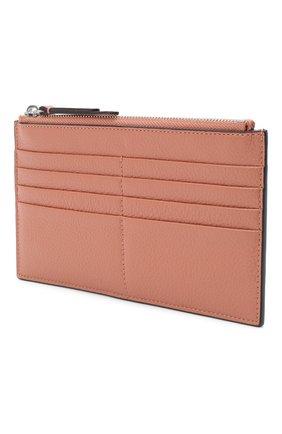 Женский кожаный футляр для кредитных карт COCCINELLE бежевого цвета, арт. E5 GV1 19 D1 07 | Фото 2
