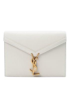 Женская сумка cassandra medium SAINT LAURENT белого цвета, арт. 532750/B0W0W | Фото 1