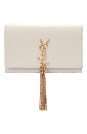 Женская сумка kate SAINT LAURENT белого цвета, арт. 452159/B0W0J | Фото 1
