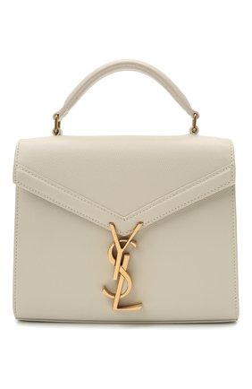 Женская кожаная сумка cassandra mini SAINT LAURENT белого цвета, арт. 623930/B0W0W | Фото 1
