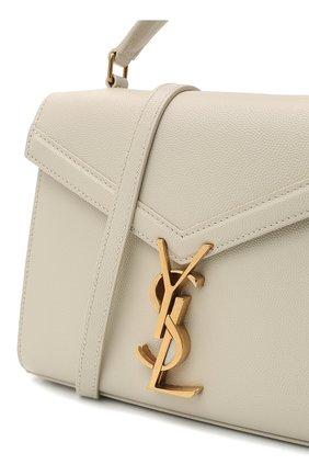 Женская кожаная сумка cassandra mini SAINT LAURENT белого цвета, арт. 623930/B0W0W | Фото 3