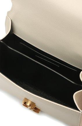 Женская кожаная сумка cassandra mini SAINT LAURENT белого цвета, арт. 623930/B0W0W | Фото 5