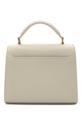 Женская кожаная сумка cassandra mini SAINT LAURENT белого цвета, арт. 623930/B0W0W | Фото 6