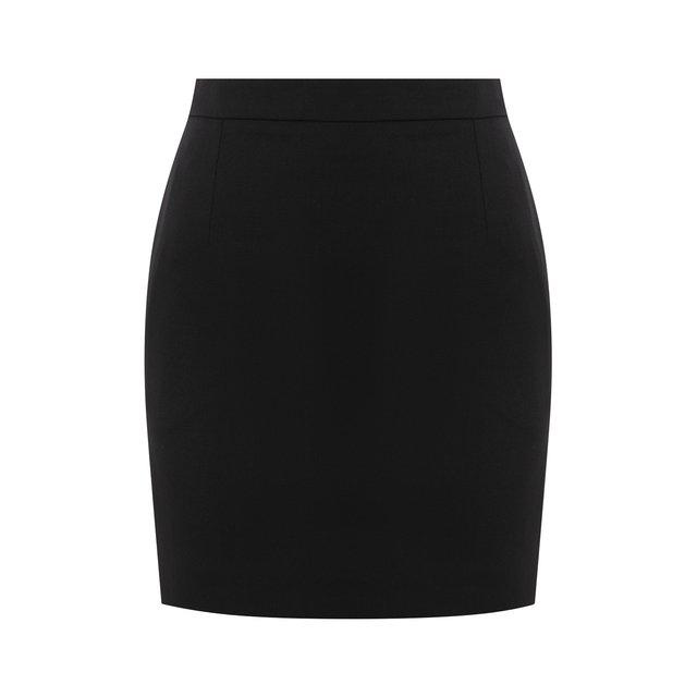 Шерстяная юбка Saint Laurent