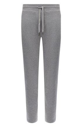 Мужской хлопковые брюки DOLCE & GABBANA светло-серого цвета, арт. GYH8AZ/G7TWG | Фото 1