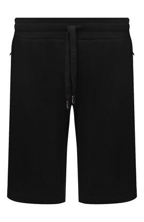 Мужские хлопковые шорты DOLCE & GABBANA черного цвета, арт. GYUTEZ/G7TWG | Фото 1