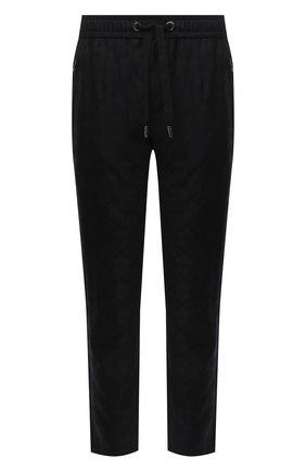 Мужской шерстяные брюки DOLCE & GABBANA черного цвета, арт. GYU6ET/FJ2B1 | Фото 1