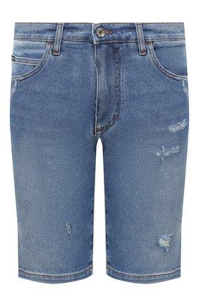 Мужские джинсовые шорты DOLCE & GABBANA голубого цвета, арт. GY4JED/G8CS2 | Фото 1