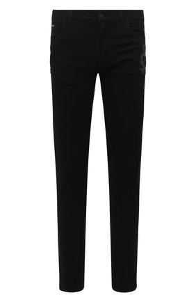Мужские джинсы DOLCE & GABBANA черного цвета, арт. GY07LZ/G8CN9 | Фото 1