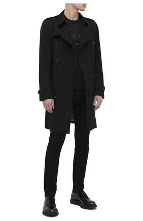 Мужские джинсы DOLCE & GABBANA черного цвета, арт. GY07LZ/G8CN9 | Фото 2