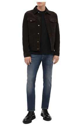 Мужские джинсы DOLCE & GABBANA синего цвета, арт. GY07LD/G8CR7 | Фото 2