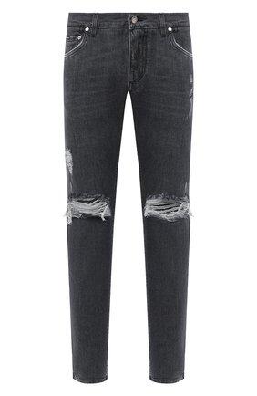 Мужские джинсы DOLCE & GABBANA серого цвета, арт. GY07CD/G8C08 | Фото 1