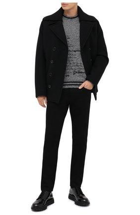 Мужской кашемировый свитер DOLCE & GABBANA серого цвета, арт. GXA63T/JAW1Z | Фото 2