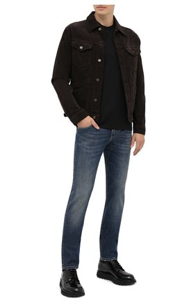 Мужская хлопковая футболка DOLCE & GABBANA черного цвета, арт. G8JX7Z/G7WUQ | Фото 2