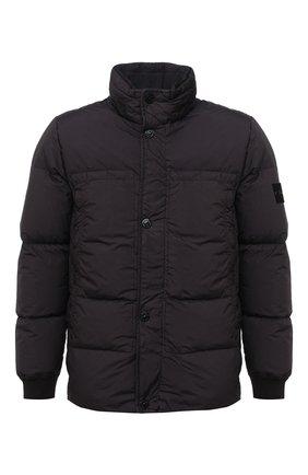 Мужская пуховая куртка STONE ISLAND темно-серого цвета, арт. 731540123 | Фото 1