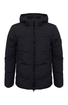 Мужская пуховая куртка STONE ISLAND темно-синего цвета, арт. 731540723 | Фото 1