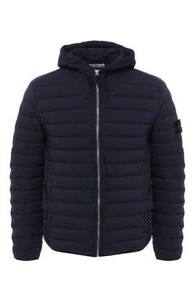 Мужская пуховая куртка STONE ISLAND темно-синего цвета, арт. 731541125 | Фото 1