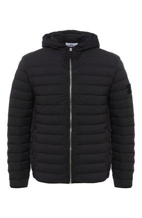 Мужская пуховая куртка STONE ISLAND черного цвета, арт. 731541125 | Фото 1