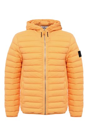 Мужская пуховая куртка STONE ISLAND оранжевого цвета, арт. 731541125 | Фото 1