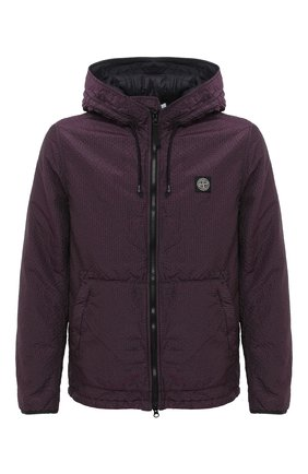Мужская утепленная куртка STONE ISLAND фиолетового цвета, арт. 731544234 | Фото 1