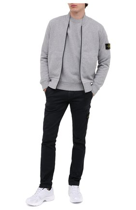 Мужской хлопковые брюки-карго STONE ISLAND темно-синего цвета, арт. 7315321L1 | Фото 2