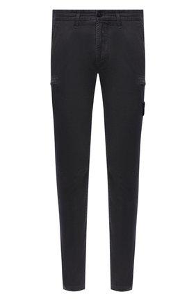 Мужской хлопковые брюки-карго STONE ISLAND темно-серого цвета, арт. 7315321L1 | Фото 1