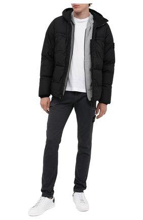 Мужской хлопковые брюки-карго STONE ISLAND темно-серого цвета, арт. 7315321L1 | Фото 2