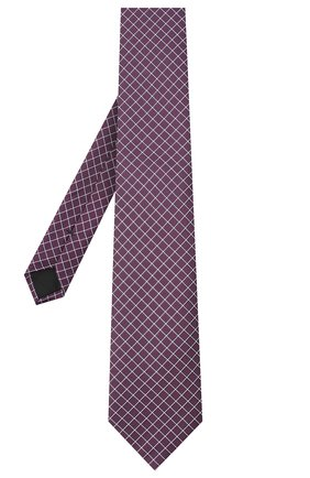 Мужской шелковый галстук BOSS бордового цвета, арт. 50442358 | Фото 2