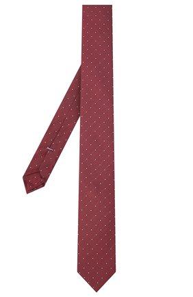 Мужской галстук BOSS красного цвета, арт. 50442794 | Фото 2