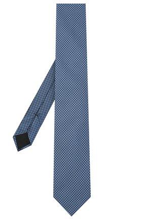Мужской шелковый галстук BOSS синего цвета, арт. 50441780 | Фото 2