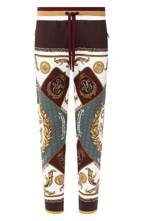Мужские хлопковые брюки DOLCE & GABBANA разноцветного цвета, арт. I3710M/HI7FD | Фото 1