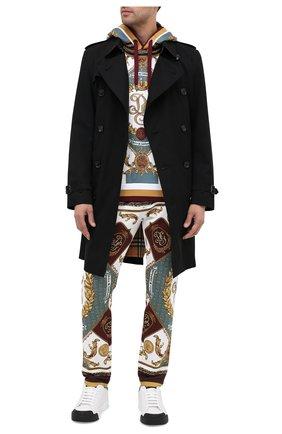 Мужской хлопковые брюки DOLCE & GABBANA разноцветного цвета, арт. I3710M/HI7FD | Фото 2