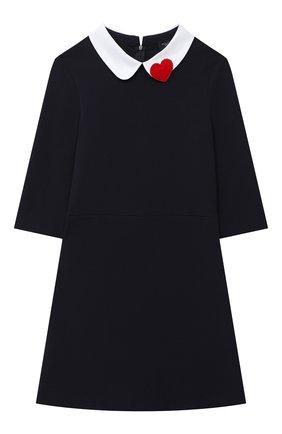 Детское платье DAL LAGO синего цвета, арт. R275/8111/13-16 | Фото 1