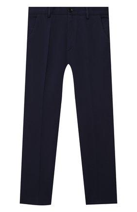 Детские брюки PAOLO PECORA MILANO темно-синего цвета, арт. PP2448/14A-16A | Фото 1