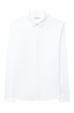 Детская хлопковая рубашка PAOLO PECORA MILANO белого цвета, арт. PP2451/8A-12A | Фото 1